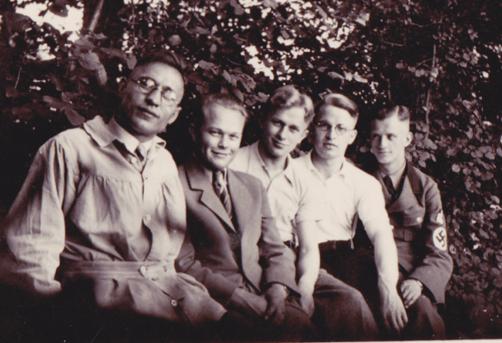 Lutherstiftbrüder, 1938 (Slg. Klaus Brünjes)